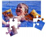 Wooden Personalised Photo Jigsaw puzzle 15 piece A5 with FREE 6X4 Photo Print